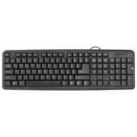 Клавиатура Defender HB-420 черная USB /20 (45420)