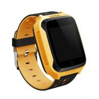 Smart-часы Q65 детские, T7, G100, Q528 с GPS-трекером черно-желтые