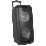 """Колонка портативная 12"""" EL-1010 Dance (Bluetooth/USB /microSD/FM/ПДУ/2 микр)"""