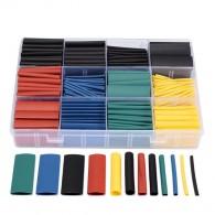 Термоусадка 530шт (5цветов,8 размеров: 1,5;2;3;4;5;6;8;10 мм х 4,5см)