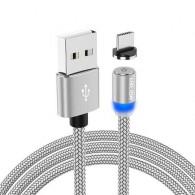Кабель USB- TypeC 1м магнитный (только питание!)