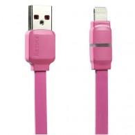 Кабель USB- iPhone5 Remax Breathe 1м с индикатором заряда (RC-029i)
