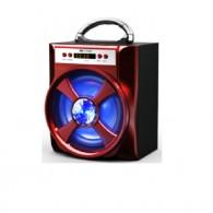 Колонка портативная MS-174BT (Bluetooth/USB /SD/FM/дисплей) красная
