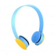 Наушники MP3 К-20 накладные желто-голуб