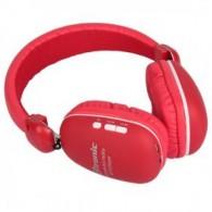 Гарнитура Bluetooth Eltronic 4454 полноразмерная красная