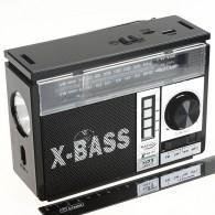 Радиоприемник NS-1327Uch (USB/SD/FM/фонарь) черный