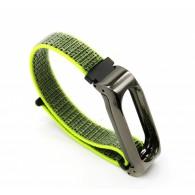 Ремешок для фитнес-браслета Mi2 Nylon салатовый