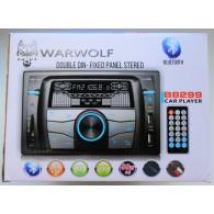 Автомагнитола 2 дин Warwolf B8299 (Fm, USB, SD, Aux)