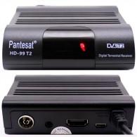 Ресивер цифровой DVB-T2/С Pantesat (HDMI, RCA, пластик, дисплей) HD-99T2