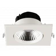 Светильник потолочный Jazzway PSP-S 8845 5W 4000K IP40 квадр.бел. (60град