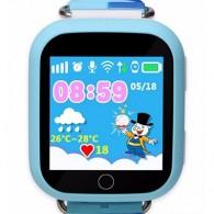 Smart-часы Q100 с GPS и Wi-Fi голубые