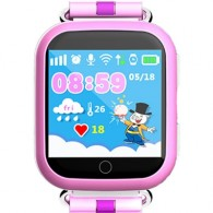 Smart-часы Q100 с GPS и Wi-Fi розовые