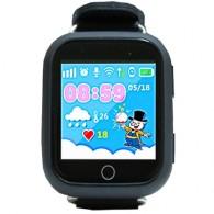 Smart-часы Q100 с GPS и Wi-Fi черные