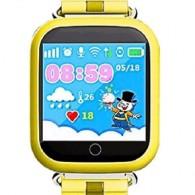 Smart-часы Q100 с GPS и Wi-Fi желтые
