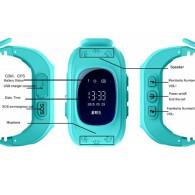 Smart-часы Q50 Hello детские с GPS трекером голубые