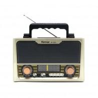 Радиоприемник MD-1703BTch (Bluetooth/USB /SD/microSD/FM/акб/4*R20) бел Kemai