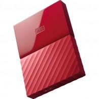 Жесткий диск HDD Western Digital 1Тb 2.5'' USB 3.0 My Passport красный