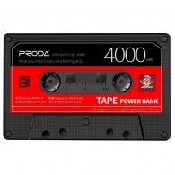 Внешний аккумулятор Proda TapePower 4000mAh 1USB*1A