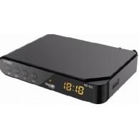 Ресивер цифровой DVB-T2 HD Эфир HD-555 пластик, дисплей