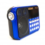 Радиоприемник Сигнал РП-224 (FM, USB,SD, фонарик, 220V,2*АА, акб 400мА\ч)