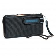 Радиоприемник Сигнал РП-225 (FM, USB,microSD, фонарик,акб 400мА\ч)