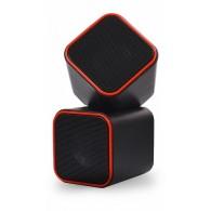 Колонки SmartBuy 2.0 SBA-2590 (6Вт) USB Cute черно-оранж