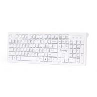 Клавиатура SmartBuy 206 USB белая (SBK-206US-W)