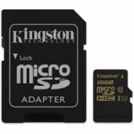 Карта памяти microSDHC Kingston 16Gb Class 10 CanvasSelect UHS-l с адапт