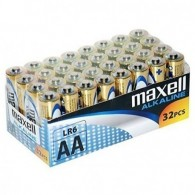Батарейка Maxell LR6 Alkaline box-32