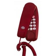 Телефон проводной Supra STL-111 красный