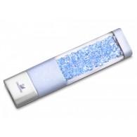 Флэш-диск 8GB Usb2.0 Кристаллический с элементами Swarovski голубой