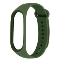 Ремешок для фитнес-браслета Mi3\Mi4 темно-зеленый (103174)