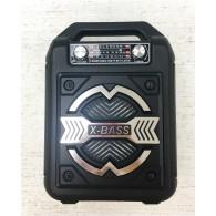 Колонка портативная XB-623BT (USB/SD/FM/Bluetooth) черная Waxiba