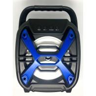 Колонка портативная ZQS-6110 (Bluetooth/USB /microSD) синяя