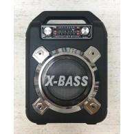Колонка портативная XB-621BT (USB/SD/FM/Bluetooth) черная Waxiba