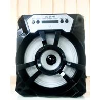 Колонка портативная MS-254BT (Bluetooth/USB /SD/FM/дисплей) черная