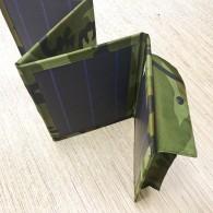 Солнечная панель - З/у - 24Вт,12В (крокодилы, прикуриватель) Россия