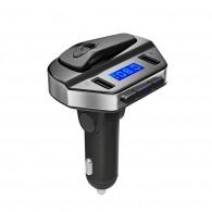 MP3 FM модулятор автомоб. V6 +Bluetooth гарнитура