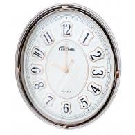 Часы настенные овальные золото 7690 (1АА)