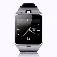 Smart-часы GV18 с GPS трекером мужские черно-серебр