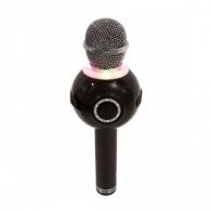 Микрофон со встр.колонкой для караоке (microSD, Bluetooth) WS-878 черный