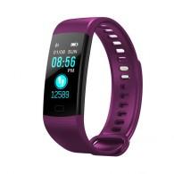 Фитнес-браслет Y5 (Фиолетовый) с измерением давления