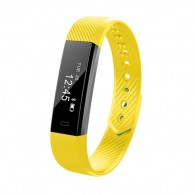 Фитнес-браслет ID115 желтый